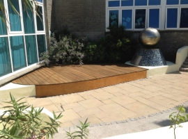 Camborne School External Works