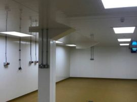 New walls & ceilings completed at Warrens Bakery St Just